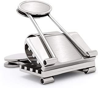 Speidel Mens Money Clip, Business, Credit Card Holder Engravable Stainless Steel