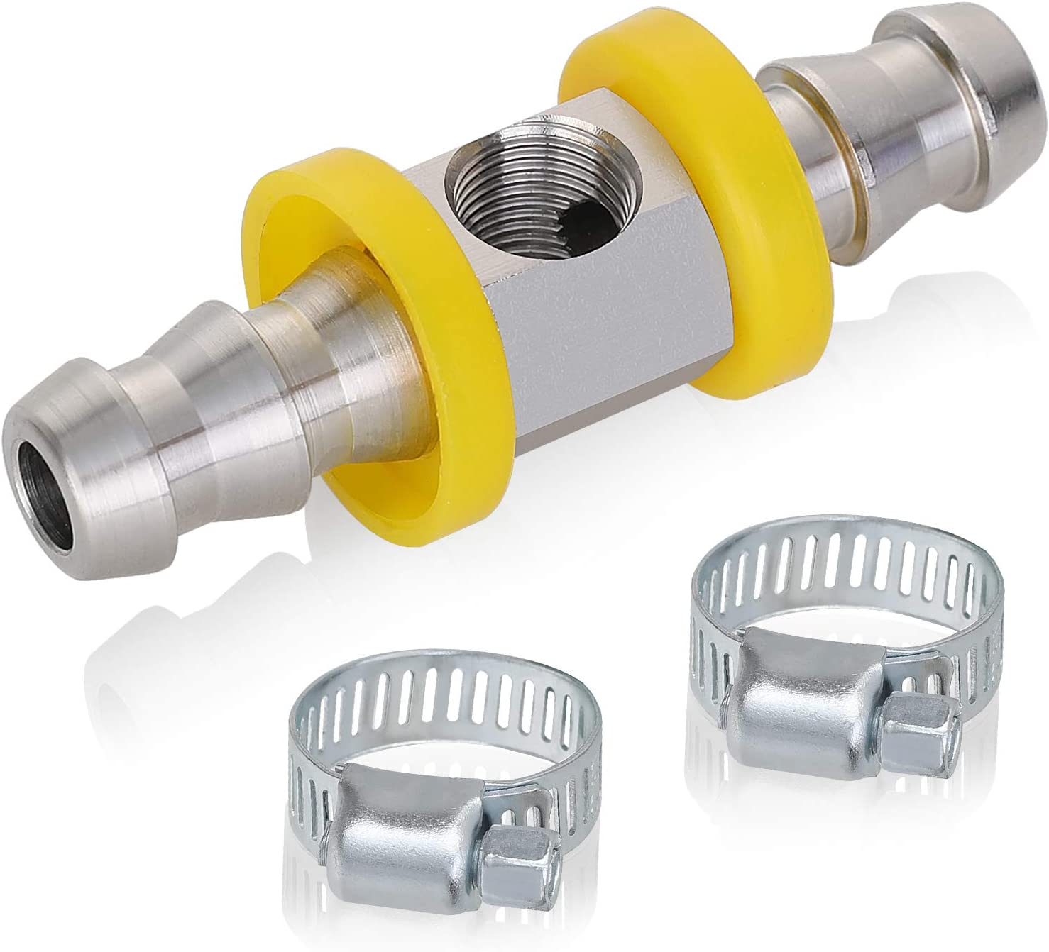 """Hromee 3 8"""" discount low-pricing Fuel Line Adapte Pressure T-Fitting Barbed"""