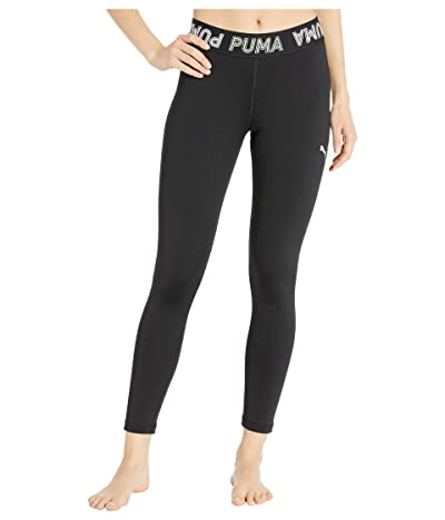 PUMA Modern Sports Banded 7/8 Leggings (Puma Black/Mist Green) Women