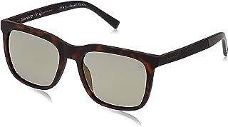 نظارة شمسية 19307221 اطار مستطيل TB9143 لون بلوند هافانا/اخضر عدسات مستقطبة للرجال من تيمبرلاند