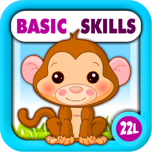 Preschool All-In-One Basic Skills: Learning Adventure A to Z (Letters, Numbers, Colors, Shapes, Go...