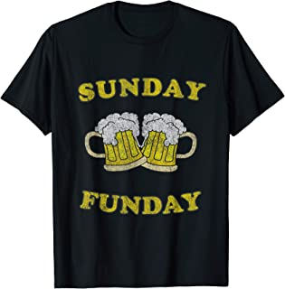 Sunday is Funday Beer Drinking T-Shirt