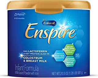 Enfamil Enspire Baby Formula Milk Powder, 20.5 Ounce (Pack of 1), Omega 3 DHA,..