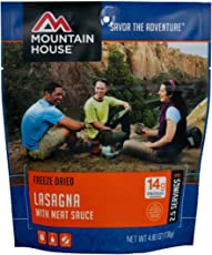 Mountain House Lasagna with Meat Sauce, 4.80 oz