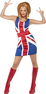 ginger spice union jack dress costume