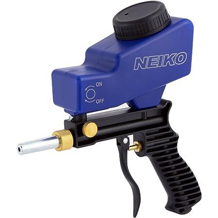 Air Sandblasting Gun Hand Held Sand Blaster Portable Shot Blasting Media E8G1