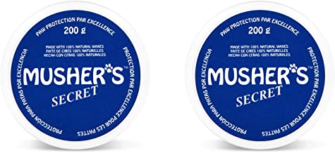 Invisible Dog Boots Wax-Based Cream Mushers Secret Size:200-Gram Pack Of 2