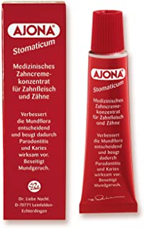 Ajona Stomaticum medical toothpaste 25ml - Made in Germany by Ajona