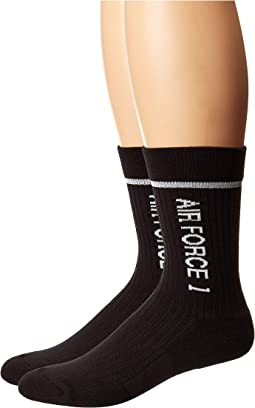 Sportswear Sneaker Sox AF1 + AM Crew Socks 2-Pair Pack