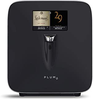 Plum Wine Dispenser - Wine Preserver and Automatic Refrigeration System with Integrated 7
