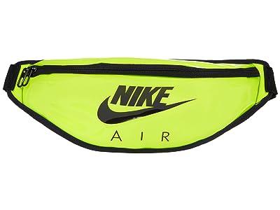 Nike Heritage Hip Pack Clear (Volt/Volt/Black) Handbags