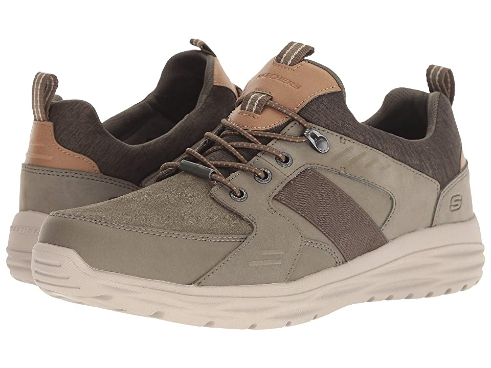 SKECHERS Harsen Arbor (Olive) Men