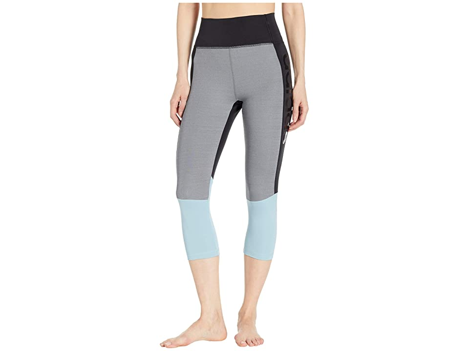 adidas Designed-2-Move High-Rise 3/4 Tights (Black/True Pink) Women's Casual Pants