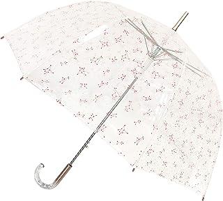 Smartbulle フランスのブランド 透明傘 長傘 ジャンプ傘 おしゃれ ドーム型 高強度グラスファイバー採用 梅雨対策 バブルアンブレラ 女用の傘 頑丈な 8本骨 (星座)