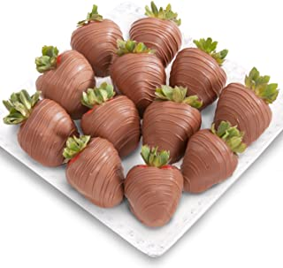 Golden State Fruit 12 Piece Magical Milk Chocolate Covered Strawberries