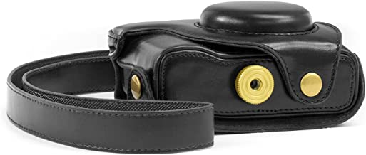 MegaGear Ever Ready Protective Leather Camera Case, Bag for Nikon Coolpix P7700 P7800