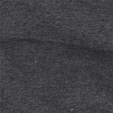 Telio Organic Cotton Melange Jersey Fabric, Dark Grey, Fabric By The Yard