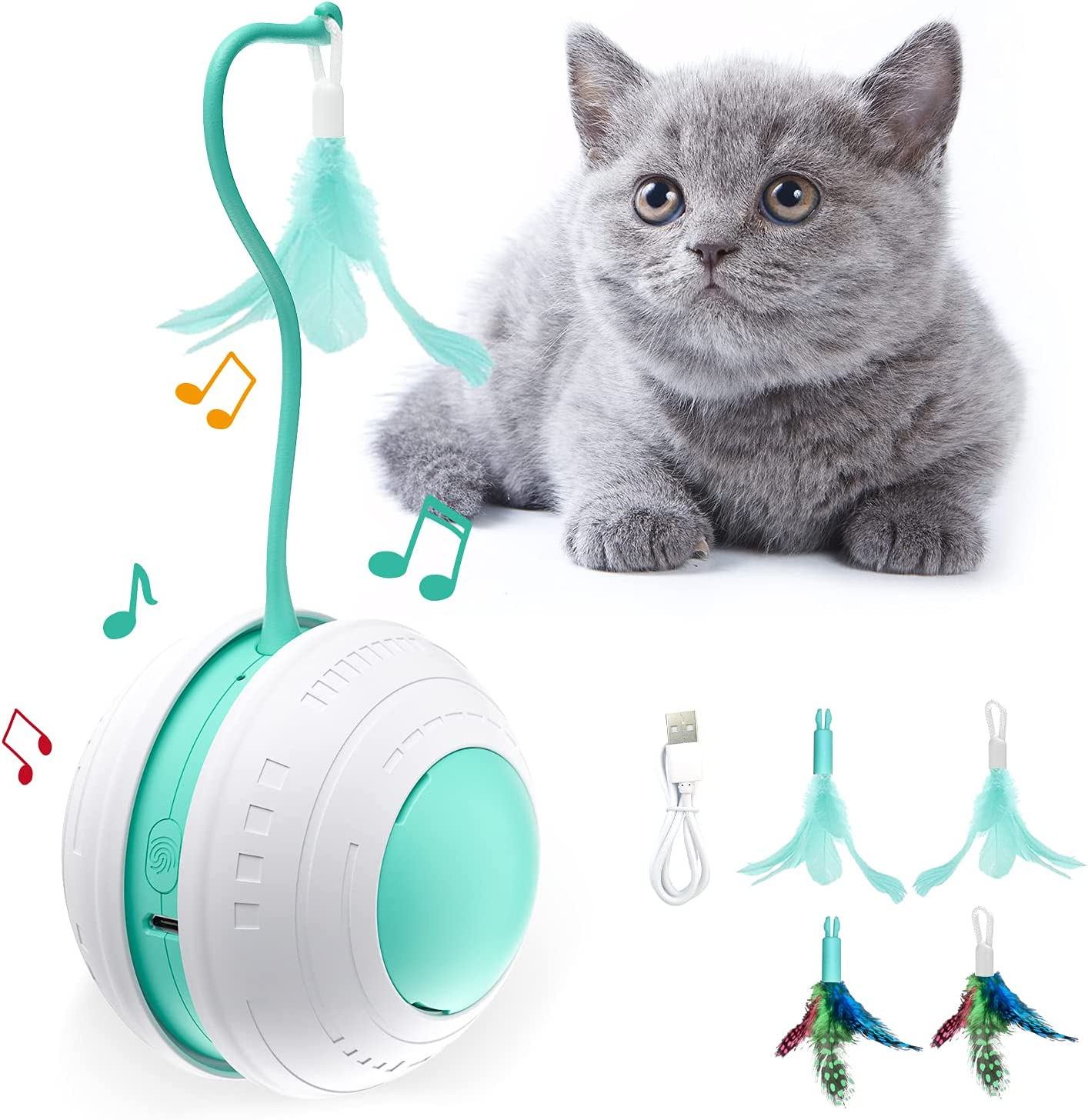 Cat Toys Interactive cat for Charging Indoor 36 Popular Selling popular Cats USB