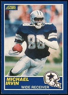 Football NFL 1989 Score #18 Michael Irvin NM-MT RC Cowboys