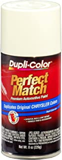 Dupli-Color BCC0407 Stone White E7 Chrysler Perfect Match Automotive Paint-Aerosol, 8. Fluid_Ounces