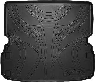 MAXLINER All Weather Cargo Liner Floor Mat Behind 2nd Row Seat Black for 2013-2018 Nissan Pathfinder / 2013 Infiniti JX35 / 2014-2018 QX60
