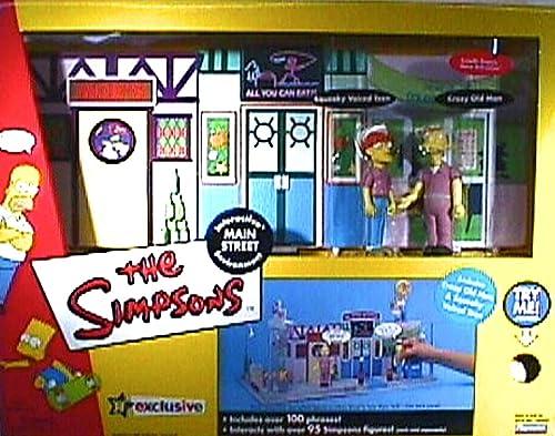 100% garantía genuina de contador Main Main Main Street Simpsons Exclusive Environment by Playmates  entrega rápida