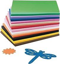 S&S Worldwide AX822 EVA Foam Sheet Assortment (Pack of 78)