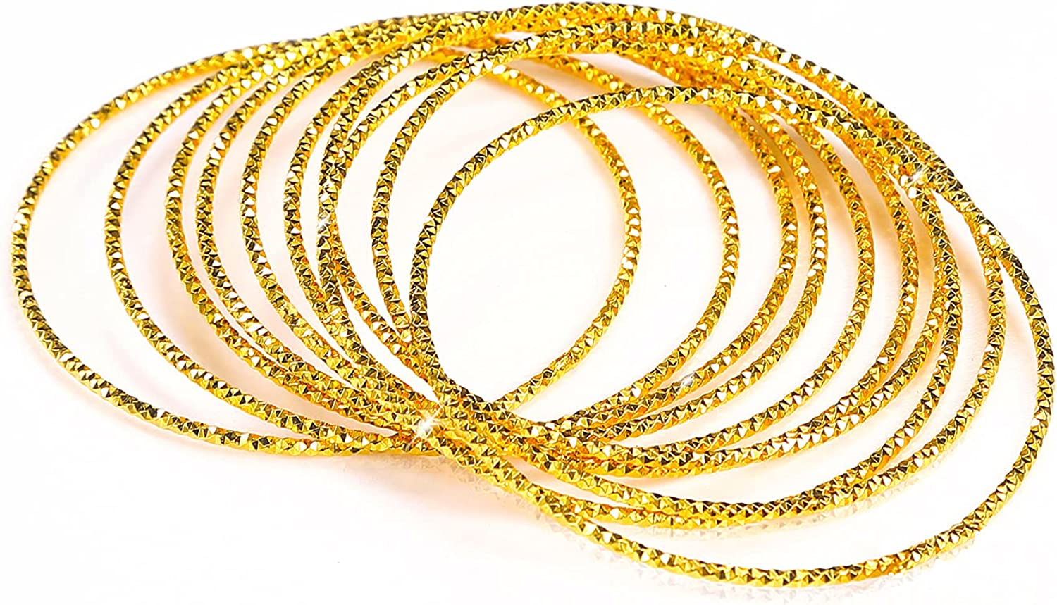 TBYOYi 24k Real Gold Plated Bracelet For Women Set (3pieces), Wonderful Festival Gift For Mum, Sister, Daughter, Friends
