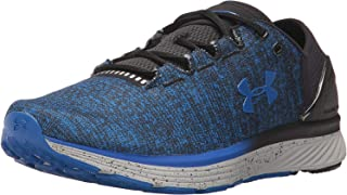Under Armour Men's Charged Bandit 3 Running Shoe,  Ultra Blue (907)/Black, 10