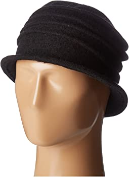 CTH8089 Soft Knit Cloche with Accordion Detail