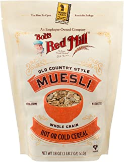Bob's Red Mill Cereal Muesli, 18-ounce Bags (4 Pack)