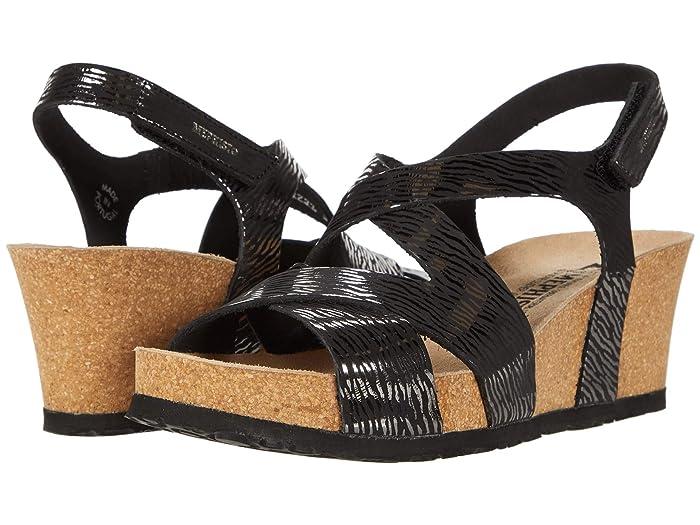 Mephisto  Lyla (Black Zebra) Womens  Shoes