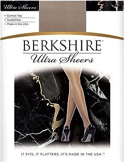 Berkshire Ultra Sheer Control Top Pantyhose - Sandalfoot 4415