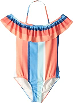Delia One-Piece Swimsuit (Big Kids)