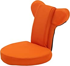 Floor Chair, Game Chair Adjustable 5 Position Transformable Folding Sleeper Lounge, Washable Cover Support Elbows Backrest...