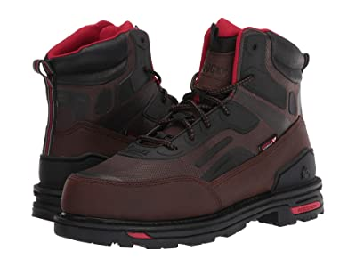 Rocky RXT 6 Comp Toe Non Metallic Boot (Dark Brown) Men