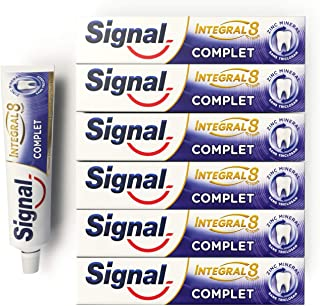 Signal Integral 8 Dentifrice Complet Antibactérien, Protection Caries Gencives..