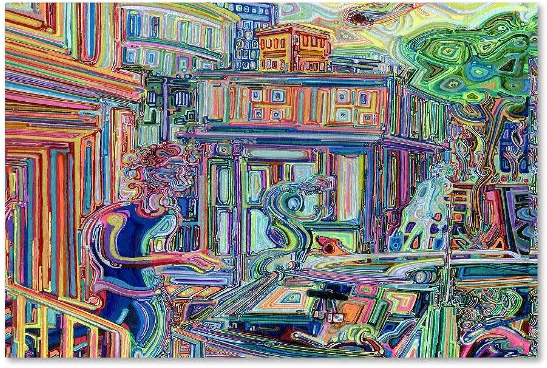 Trademark Fine Art Distractions by Josh Byer, 14x19 Canvas Wall Art