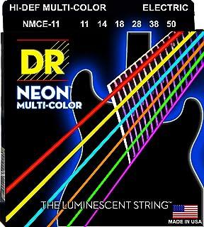 سلاسل غيتار كهربائي من DR سترينغز HI-DEF NEON (NMCE-11)