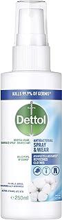Dettol Spray & Wear Surface Laundry Disinfectant Spray Fresh Cotton 250 ml