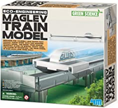 Kit de fabrication Green Science : Modèle de train à sustentation magnétique
