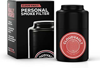 Hand-held Smoke Filter (Mouthpiece & Filter) Smoke Without Smells & Haze from Tobacco herb etc Personal air Filter