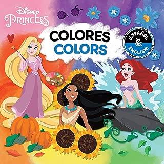 Colors / Colores (English-Spanish) (Disney Princess) (1) (Disney Bilingual)