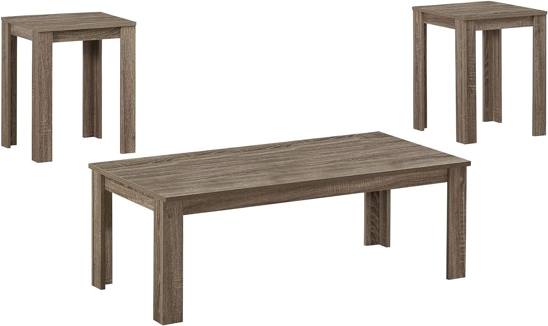 Ergode Table Set - 3PCS Virginia Beach Mall Regular discount Dark Taupe