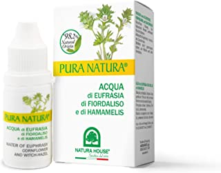 PuraNatura Occhi - Eau d'Eufrasia Floralise et Hamamelis, 10 ml