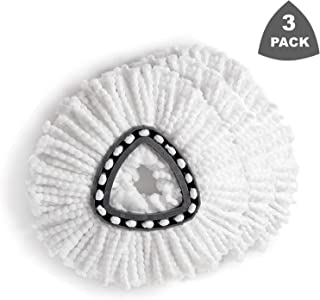 Replacement Mop Head Microfiber Spin Mop Refill Clean Pad...
