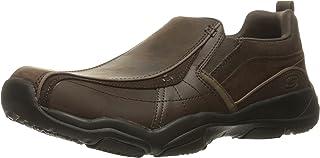 comprar comparacion Skechers Larson Berto Hombres Slip En Los Zapatos De Cuero