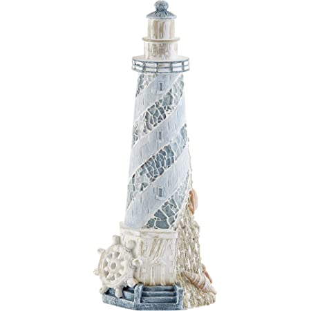 d8   LIGHTHOUSE WITH LIGHT ! brand new in box