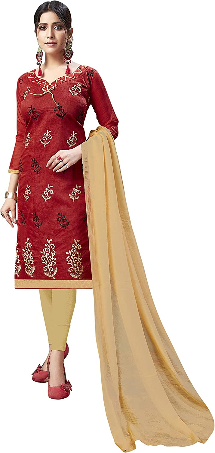 Classic Designer Indian Pakistani Style Salwar Suit with Dupatta for Girls & Women for All Occasion & Festival