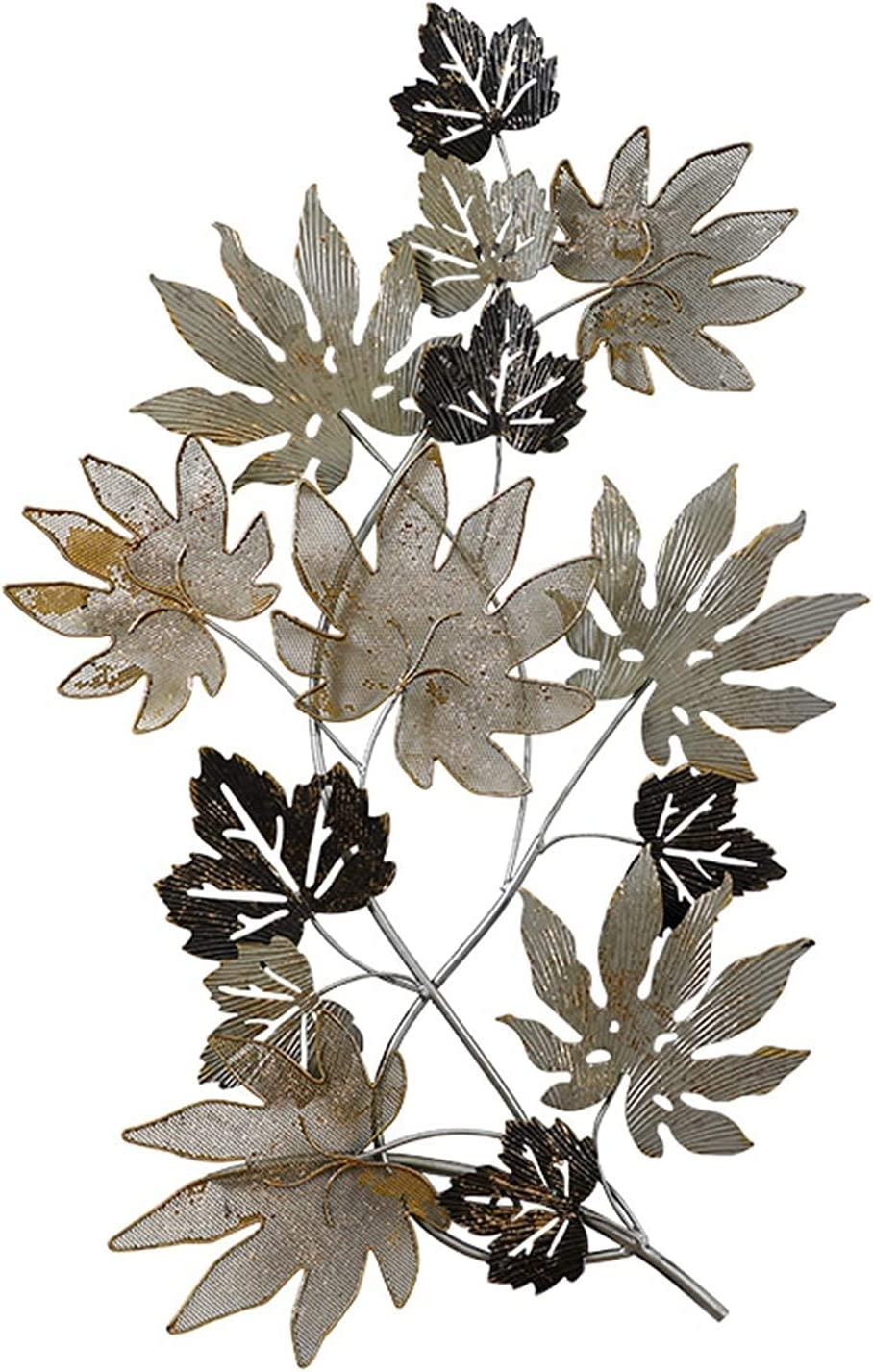 Creative Wrought Los Las Vegas Mall Angeles Mall Iron Maple Leaf Decora Wall Hanging Porch